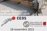 Journée de restitution CEOS - Toulouse